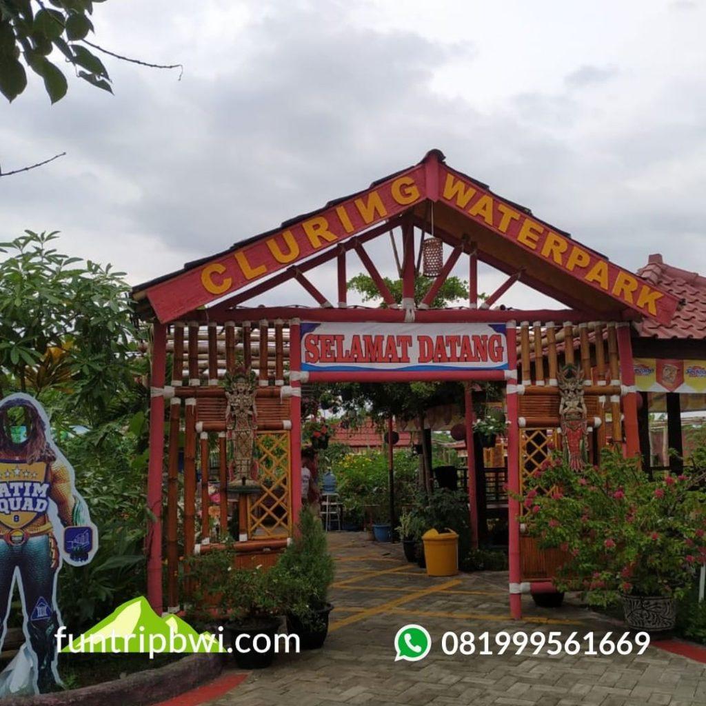 Edisi open trip Cluring Waterpark Banyuwangi Hallo Bosku, libura...