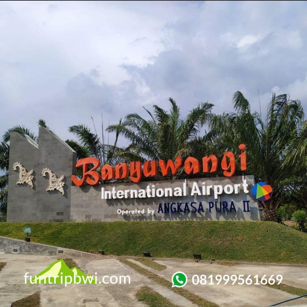 Edisi jemput tamu di Bandara Banyuwangi  Hallo Bosku, liburan nan...